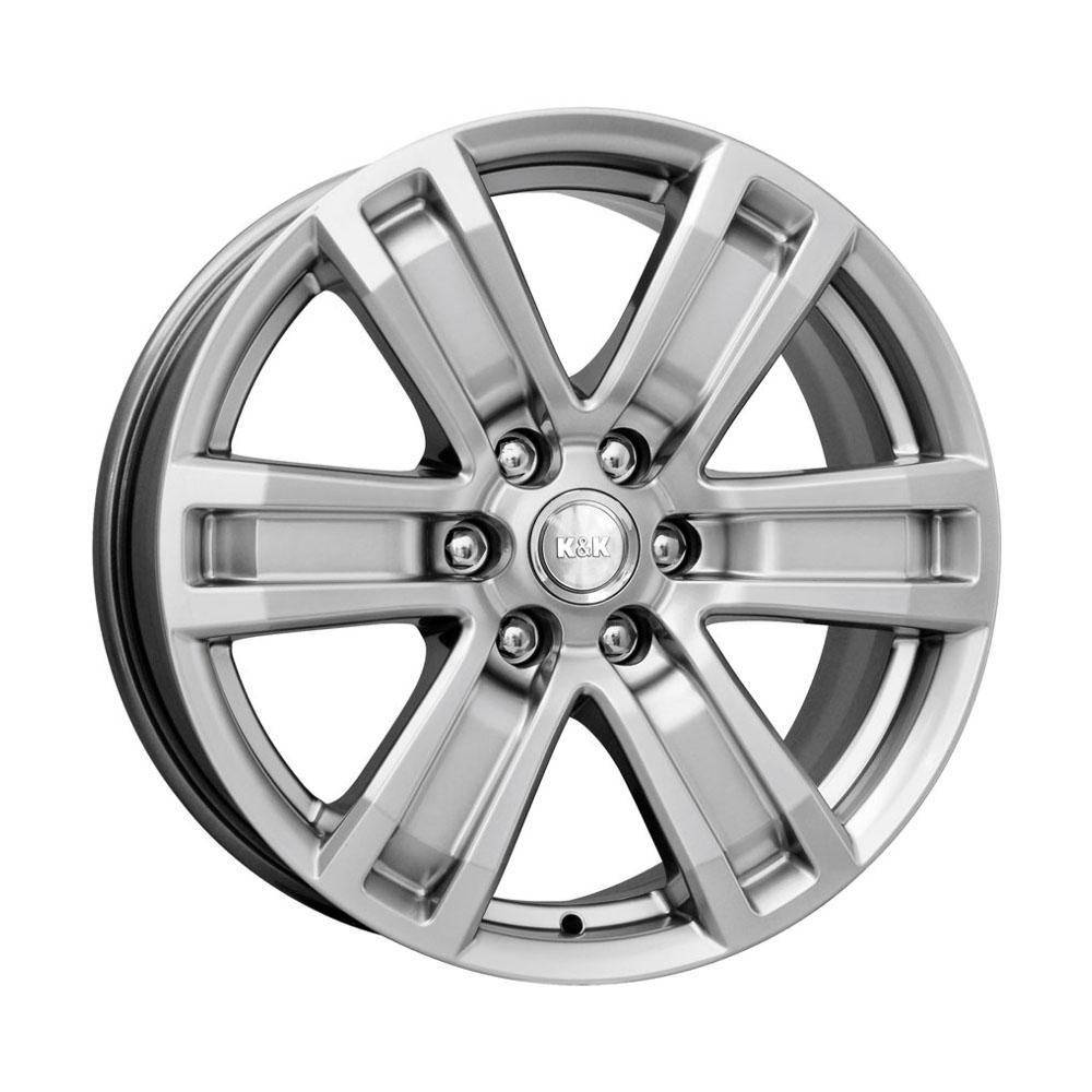 Литой диск КиК R7-Рольф (КС456) 7x16/6*139.7 D92.5 ET46 Silver
