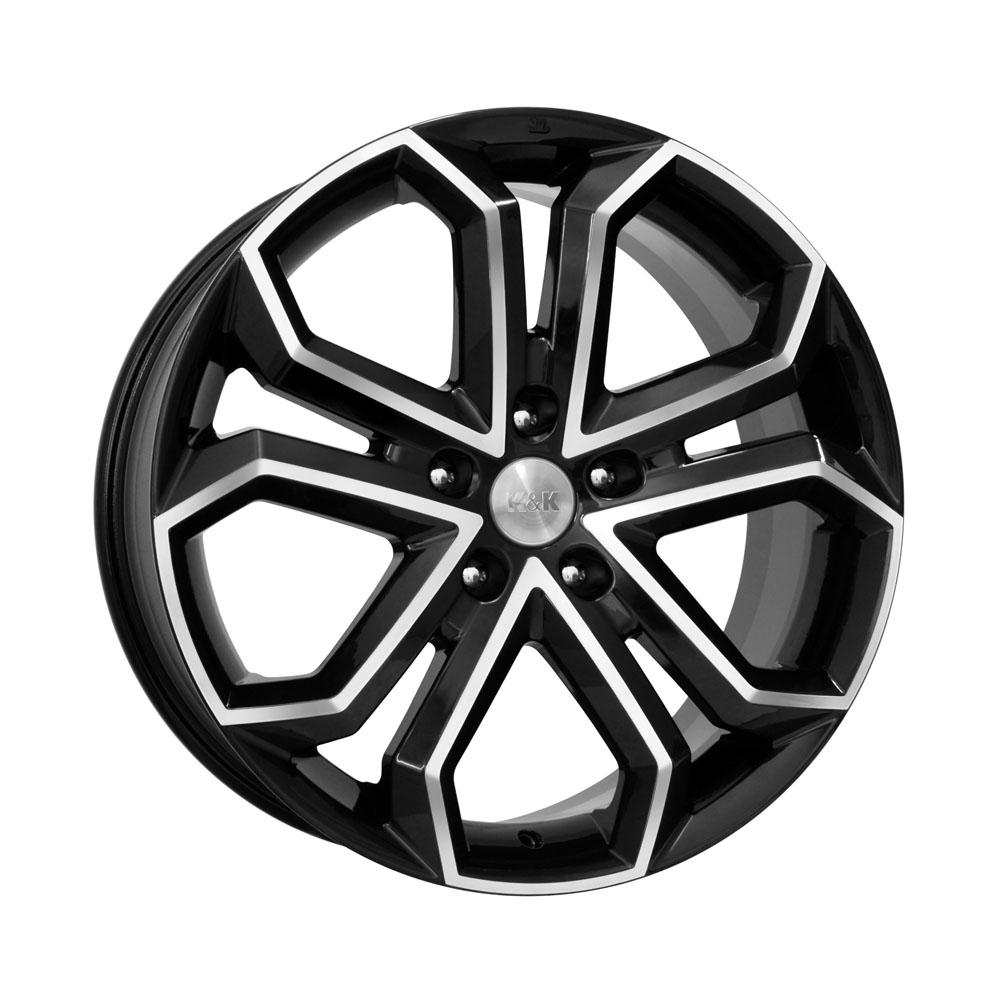 Фото - Литой диск КиК Пандора (КС466) 8.5x19/5*130 D71.6 ET45 Алмаз-черный литой диск кик онегин кс472 8x18 5 100 d56 1 et45 алмаз черный