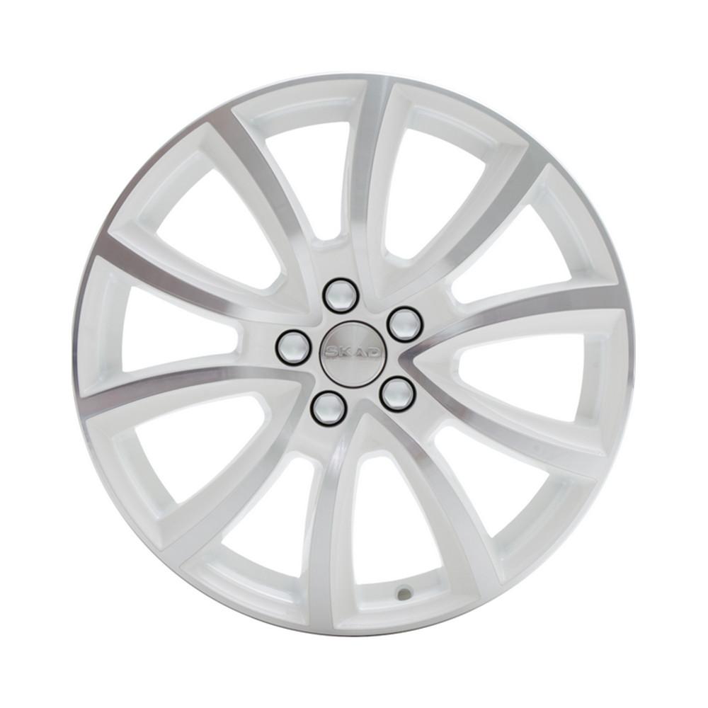 Литой диск СКАД Онтарио 7x17/5*114.3 D66.1 ET40 Алмаз-белый
