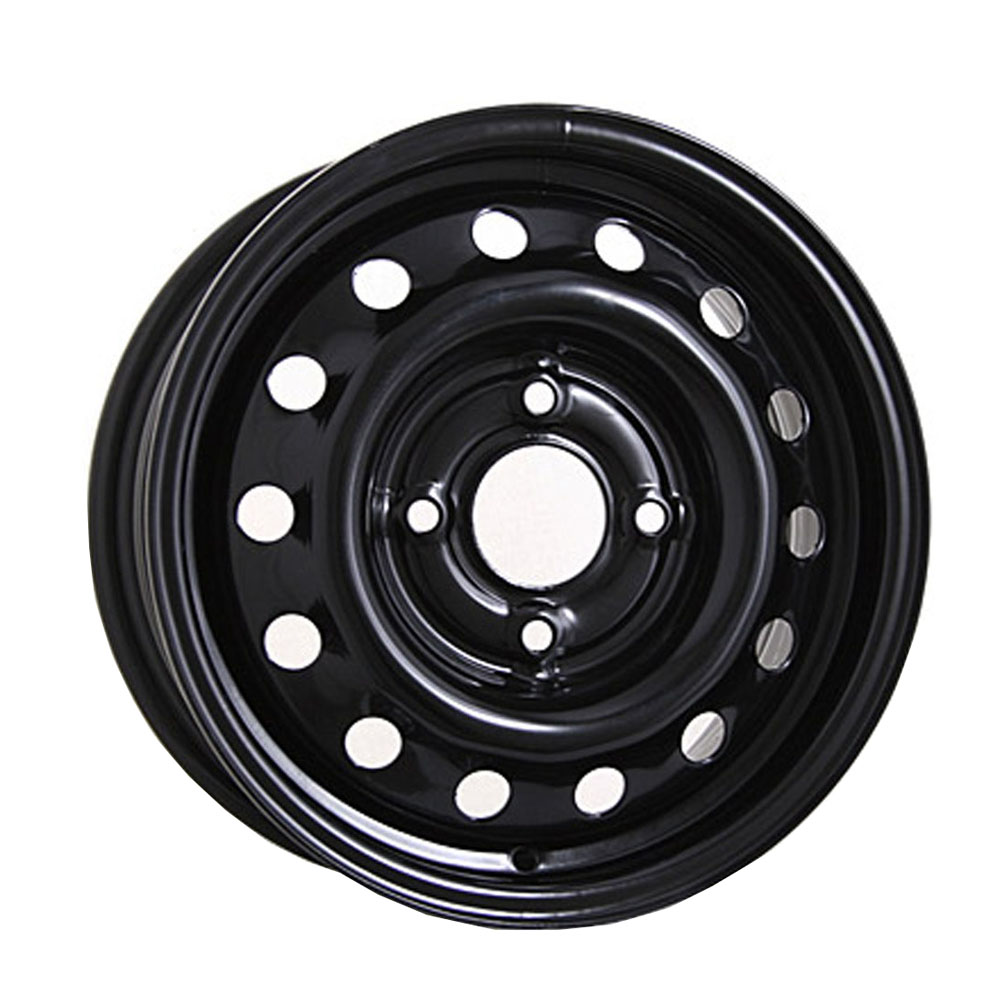 Штампованный диск ТЗСК Chevrolet Aveo 6x15/5*105 D56.6 ET39 Черный-глянец фото