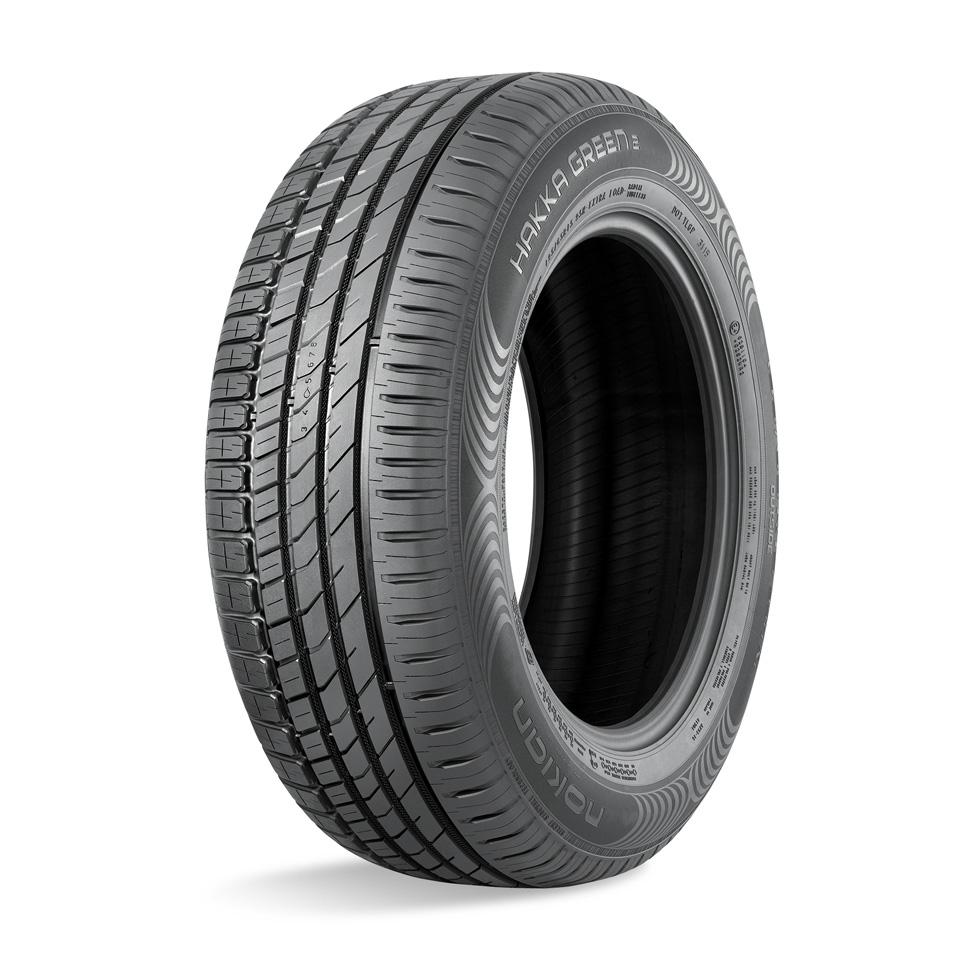 Фото - Летняя шина Nokian Hakka Green 2 195/60 R15 88H nokian tyres hakka van 195 70 r15 104r летняя