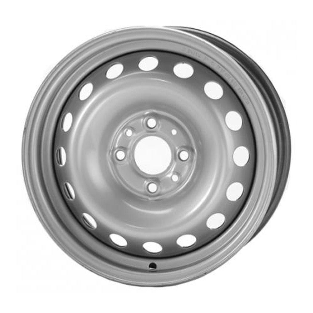 Штампованный диск TREBL 64C18F Peugeot 6x15/4*108 D65.1 ET18 Silver колесный диск штампованный trebl 9138165 7x16 4 108 et29 d65 1 для peugeot 308 2008