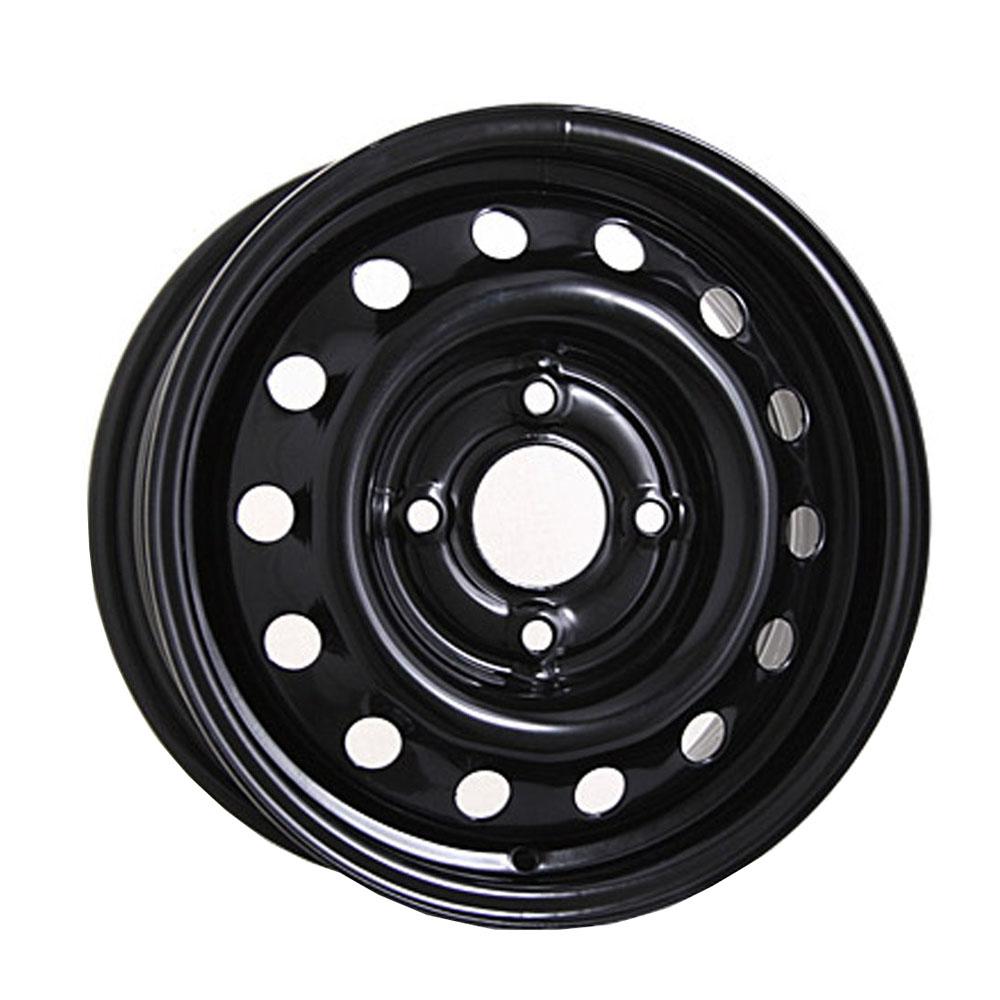 Фото - Штампованный диск TREBL 5210T Volkswagen 5x14/5*100 D57.1 ET35 Black штампованный диск trebl 6555 chevrolet 5 5x14 4 114 3 d56 6 et44 silver
