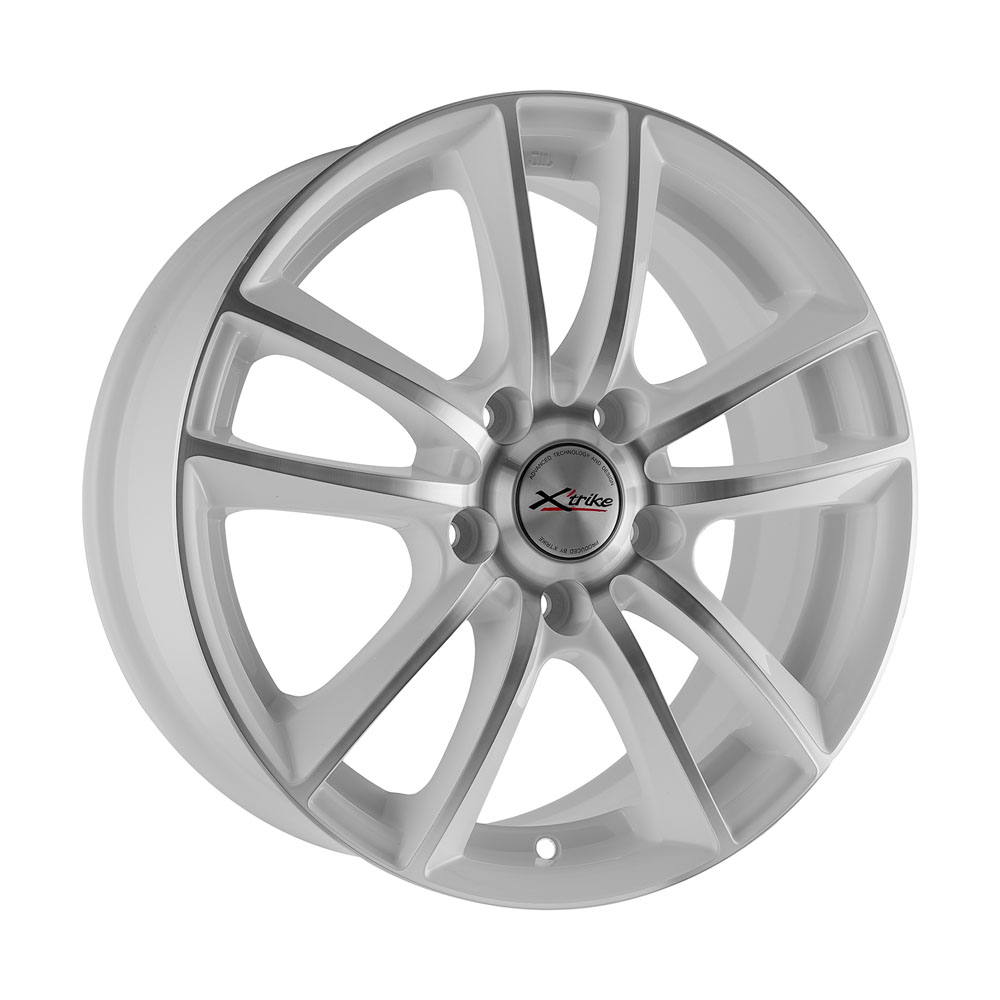 Фото - Литой диск X'trike X-116 6.5x16/5*115 D70.1 ET41 W/FP литой диск кик astra кс681 6 5x16 5 115 d70 2 et41 silver