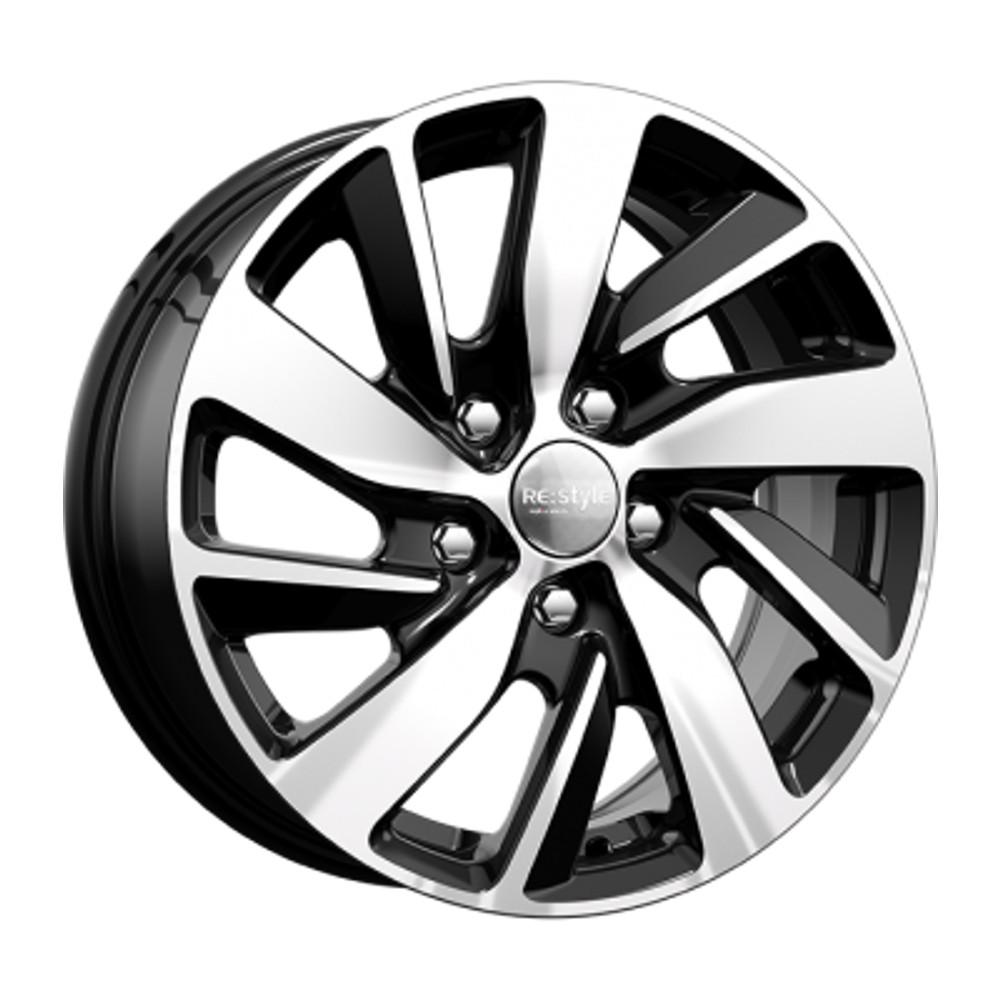 Фото - Литой диск КиК Renault Fluence (КС741) 6.5x16/5*114.3 D66.1 ET47 Алмаз-черный диск nz sh672 7 x 17 модель 9129711