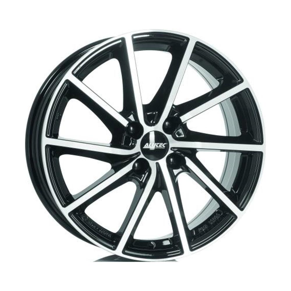 Литой диск Alutec Singa 7.5x18/5*114.3 D67.1 ET49.5 Diamond Black Front Polished недорого