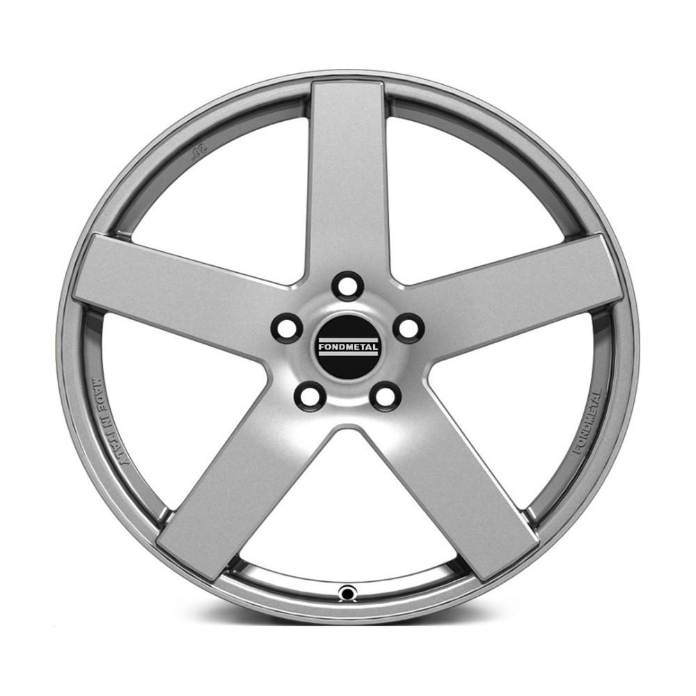 Литой диск Fondmetal STC02 9x20/5*112 D75 ET35 Glossy Silver фото