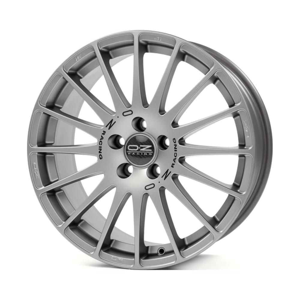 Фото - Литой диск OZ Superturismo GT 8x18/5*112 D75 ET50 Grigio Corsa Black Lettering диск nz sh672 7 x 17 модель 9129711
