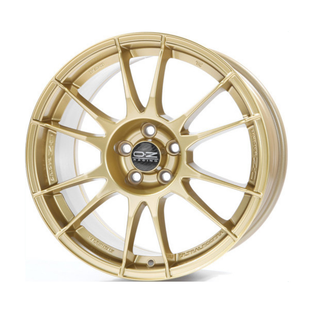 Литой диск OZ Ultraleggera 8x18/5*100 D68 ET48 Race Gold фото