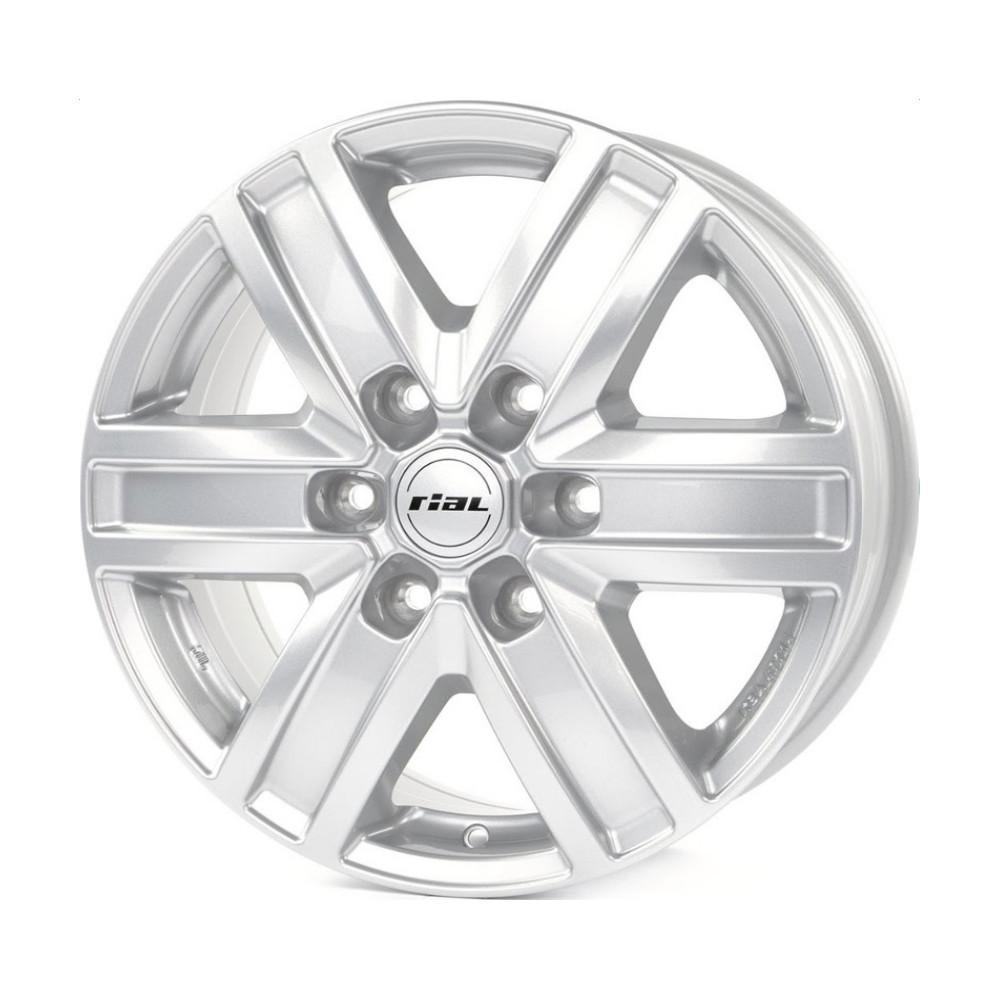 Фото - Литой диск Rial Transporter 6 6.5x16/6*130 D84.1 ET62 Polar Silver колесный диск rial x10 8х18 5х120 d72 6 et34 polar silver