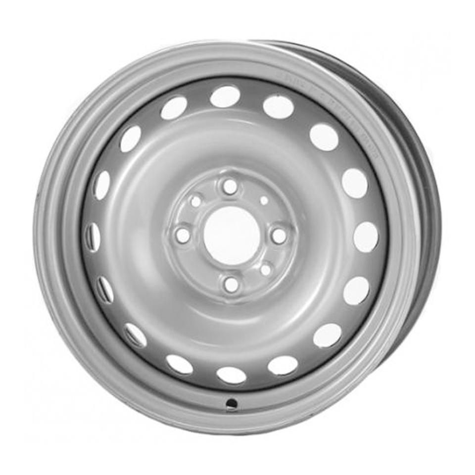 Штампованный диск TREBL 64H38D P Volkswagen 6x15/5*100 D57.1 ET38 Silver фото