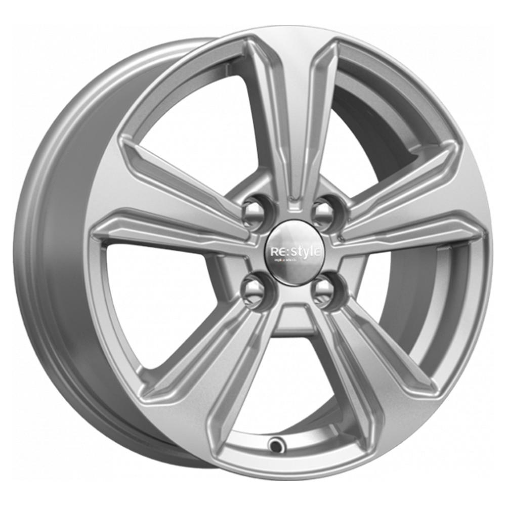 Литой диск КиК Hyundai Solaris (КС777) 6x15/4*100 D54.1 ET48 Silver фото