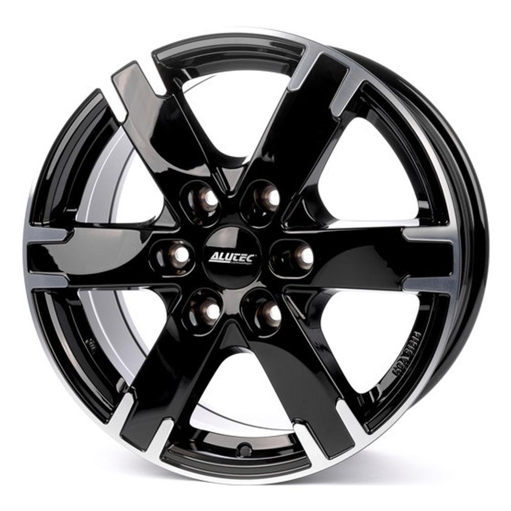 Литой диск Alutec Titan 7x16/6*114.3 D66.1 ET45 Diamond Black Front Polished недорого
