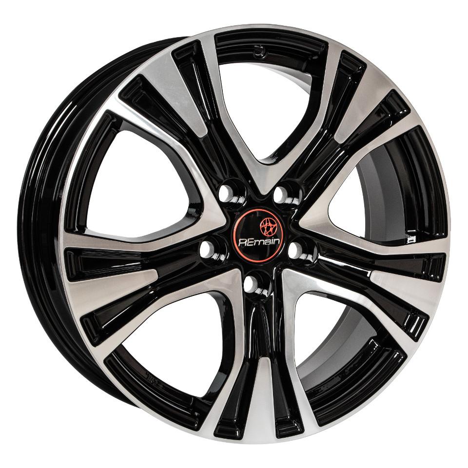 Фото - Литой диск Remain Volkswagen Tiguan (R159) 7x17/5*112 D57.1 ET43 Алмаз-черный литой диск remain skoda octavia r185 7x17 5 112 d57 1 et48 5 алмаз черный