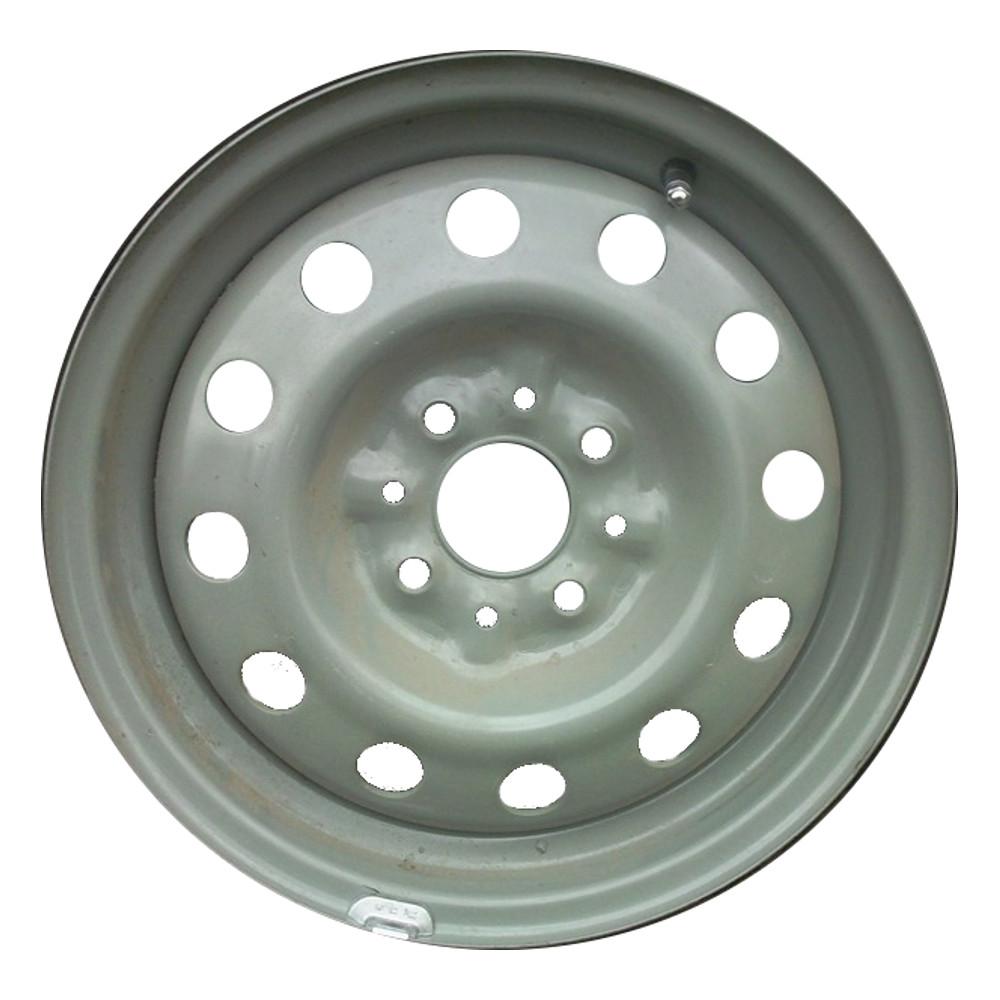 Штампованный диск ТЗСК 88129547268 Lada 6x15/4*98 D58.6 ET35 Серо-зеленый тзск lada granta 6x15 4x98 d58 6 et35 black