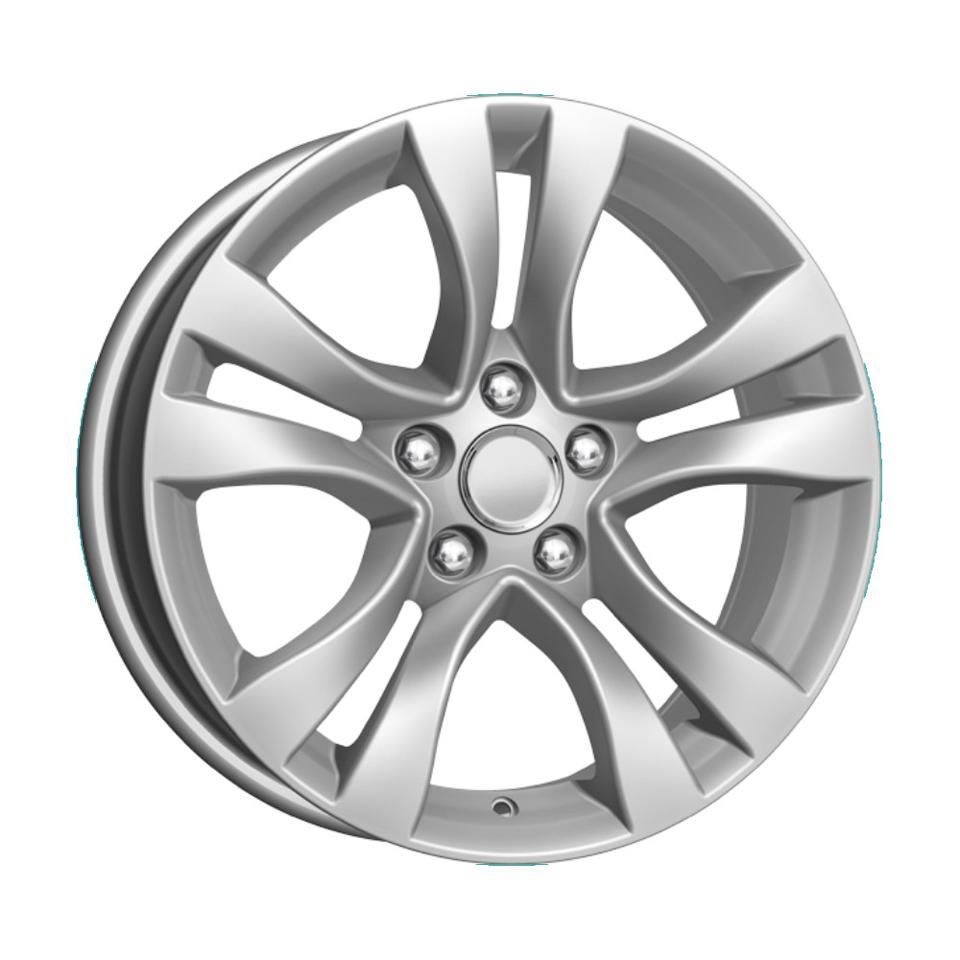 Фото - Литой диск КиК Chevrolet Cruze (KC659) 6.5x16/5*105 D56.6 ET38 Silver литой диск alutec singa 6 5x16 5 114 3 d67 1 et38 polar silver