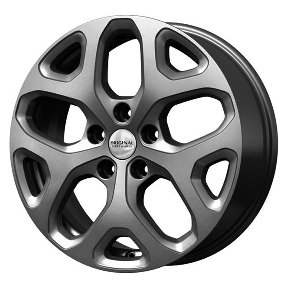 Литой диск СКАД Renault Kaptur (KL-307) 6.5x17/5*114.3 D66.1 ET50 Графит фото