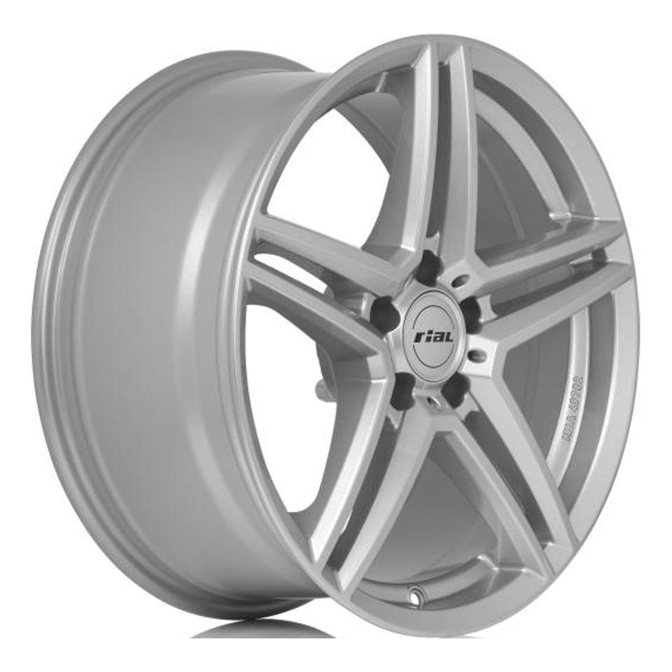 Литой диск Rial M10 8x18/5*112 D66.5 ET38 Polar Silver фото
