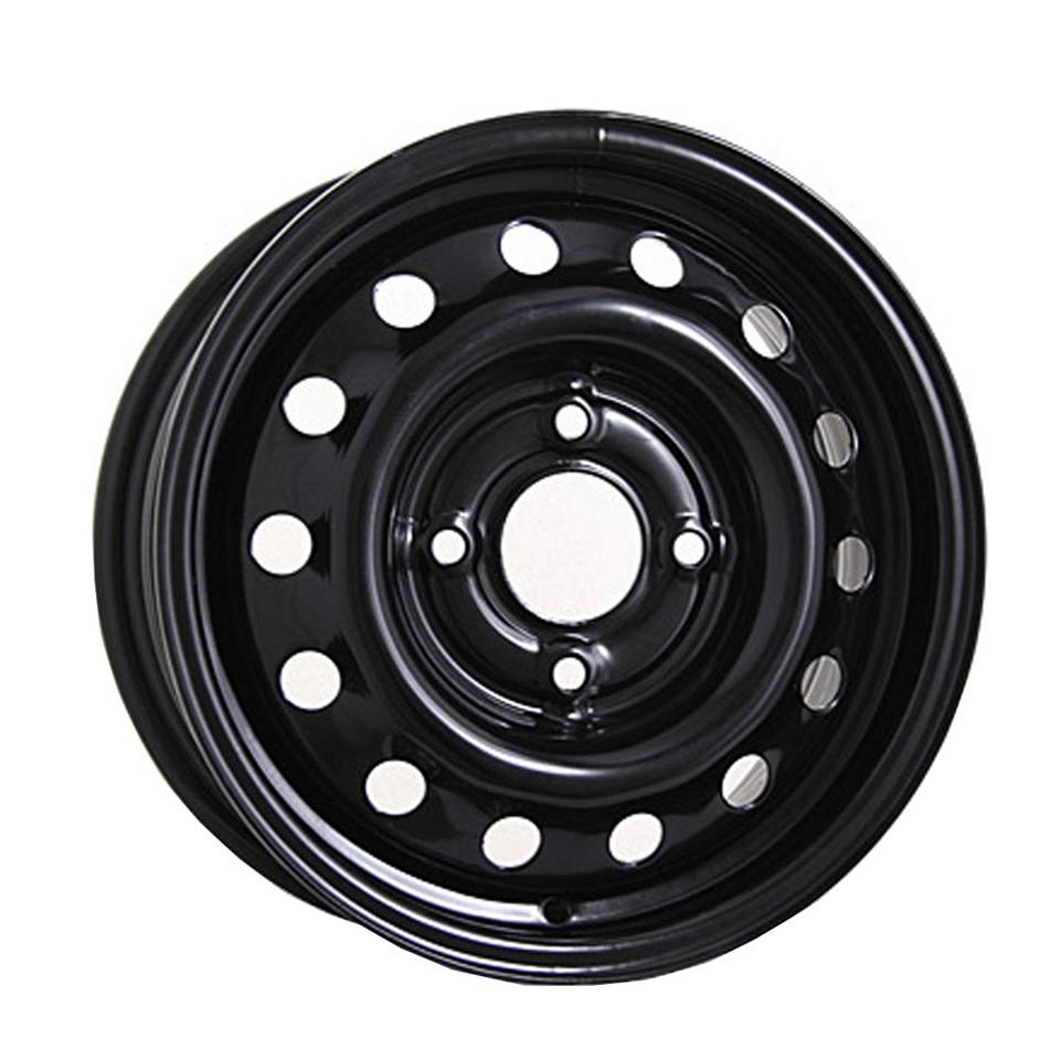 Фото - Штампованный диск TREBL Chevrolet 6565 P 5.5x14/4*100 D56.6 ET45 Black штампованный диск trebl 6555 chevrolet 5 5x14 4 114 3 d56 6 et44 silver