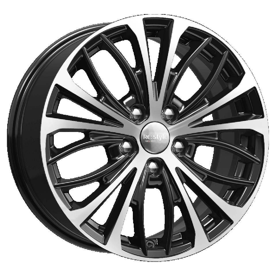 Литой диск КиК Volkswagen Passat (КС873) 7.5x17/5*112 D57.1 ET47 Алмаз-черный фото