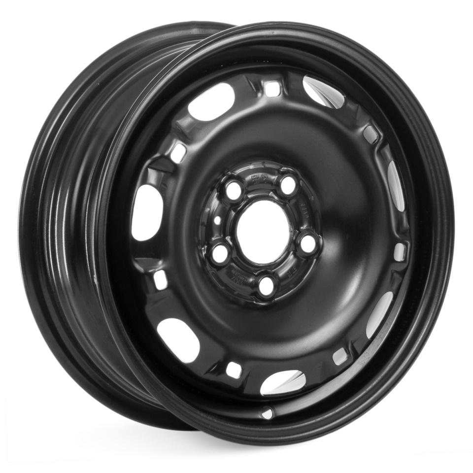 Фото - Штампованный диск Magnetto Volkswagen Polo 15007 6x15/5*100 D57.1 ET38 black штампованный диск magnetto vw jetta 6 5x16 5 112 d57 1 et50 black