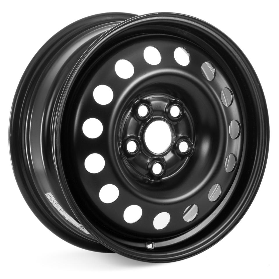 Фото - Штампованный диск Kronprinz VO516010 (9845) 6x16/5*112 D57 ET53 черный штампованный диск magnetto vw jetta 6 5x16 5 112 d57 1 et50 black