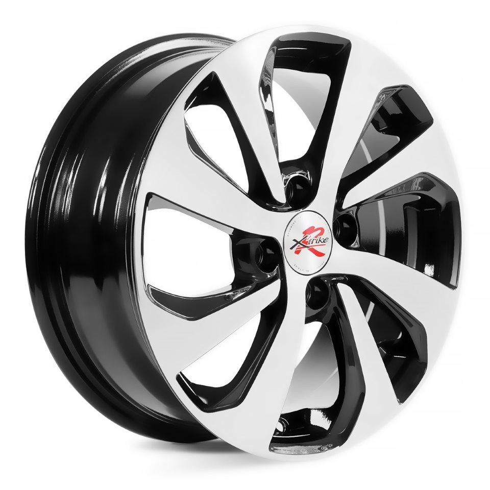 Фото - Литой диск X`trike RST R005 6x15/4*100 D54.1 ET48 BK/FP колесный диск x trike x 129 6 5x16 4x100 d67 1 et36 bk fp