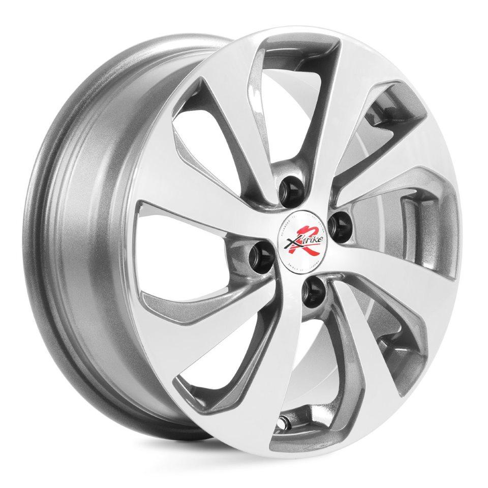Фото - Литой диск X`trike RST R005 6x15/4*100 D54.1 ET48 HSB/FP колесный диск x trike x 122 7 5x18 5x100 d56 1 et48 bk fp