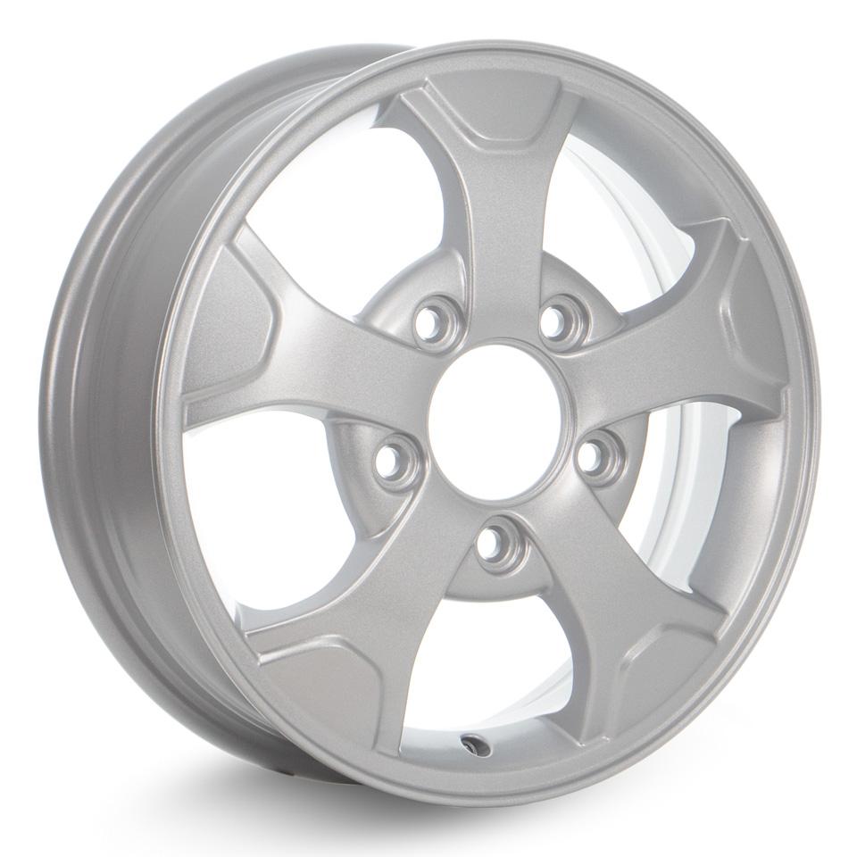 Фото - Литой диск КиК Нива-оригинал (КС657) 5x16/5*139.7 D98.5 ET58 Silver литой диск кик astra кс681 6 5x16 5 115 d70 2 et41 silver