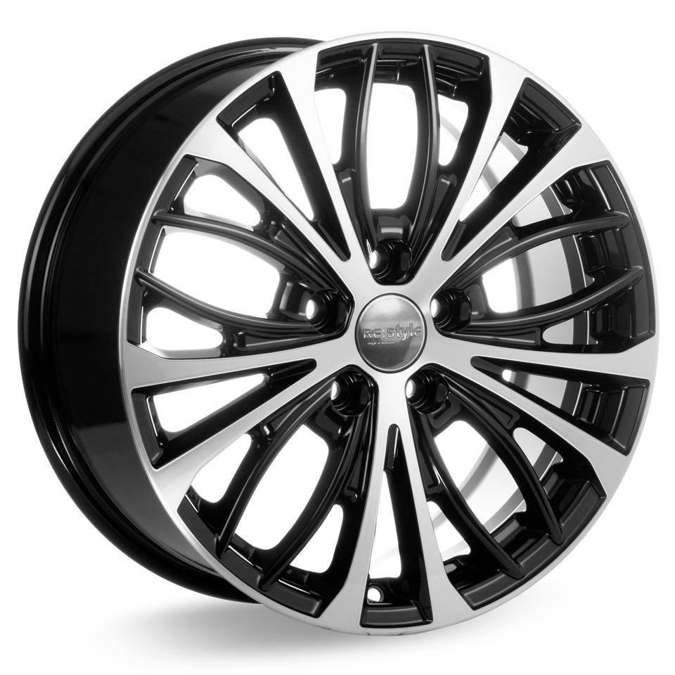 Литой диск КиК Toyota Camry (КС873) 7.5x17/5*114.3 D60.1 ET45 Алмаз-черный литой диск кик kia optima jf кс873 7 5x17 5 114 3 d67 1 et52 5 алмаз черный