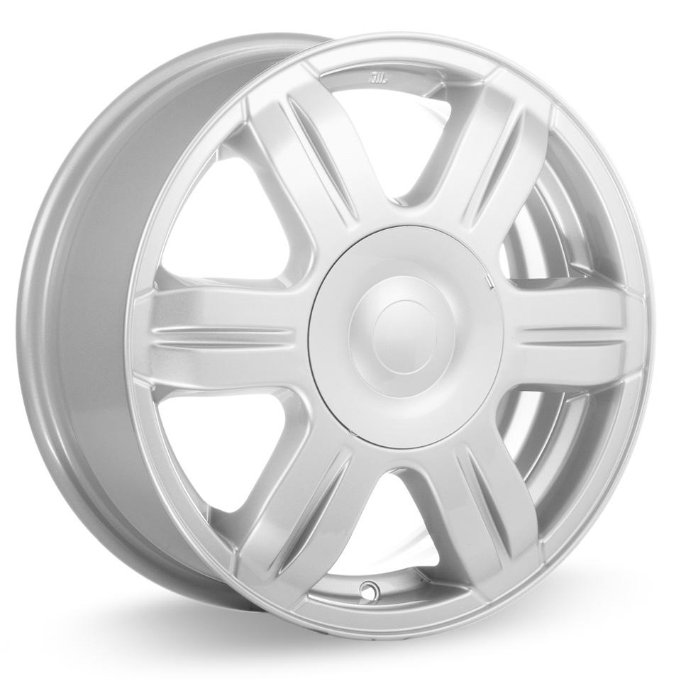 Литой диск КиК Hyundai Solaris (КС670) 6x15/4*100 D54.1 ET48 Silver кик серия реплика кс685 15 solaris fl 6x15 4x100 d54 1 et48 silver