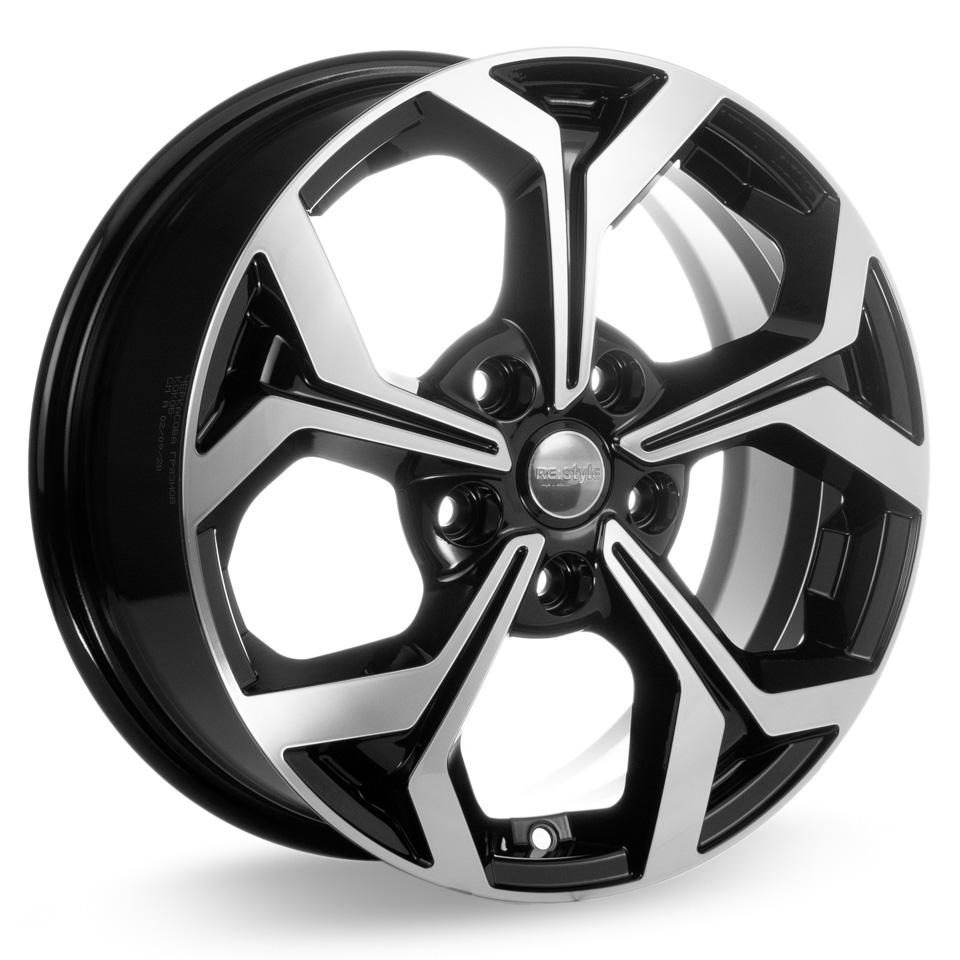 Фото - Литой диск КиК Toyota Corolla (КС878) 6.5x16/5*114.3 D67.1 ET45 Алмаз-черный литой диск кик онегин кс472 8x18 5 100 d56 1 et45 алмаз черный