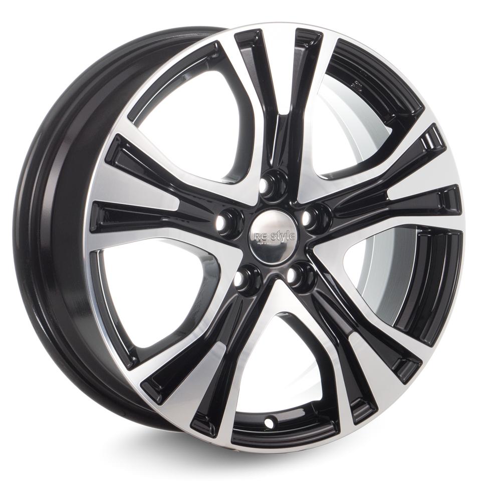 Фото - Литой диск КиК Audi A4 (КС673) 7x17/5*112 D66.6 ET46 Алмаз-черный литой диск rial lucca 6 5x16 5 112 d57 1 et46 polar silver