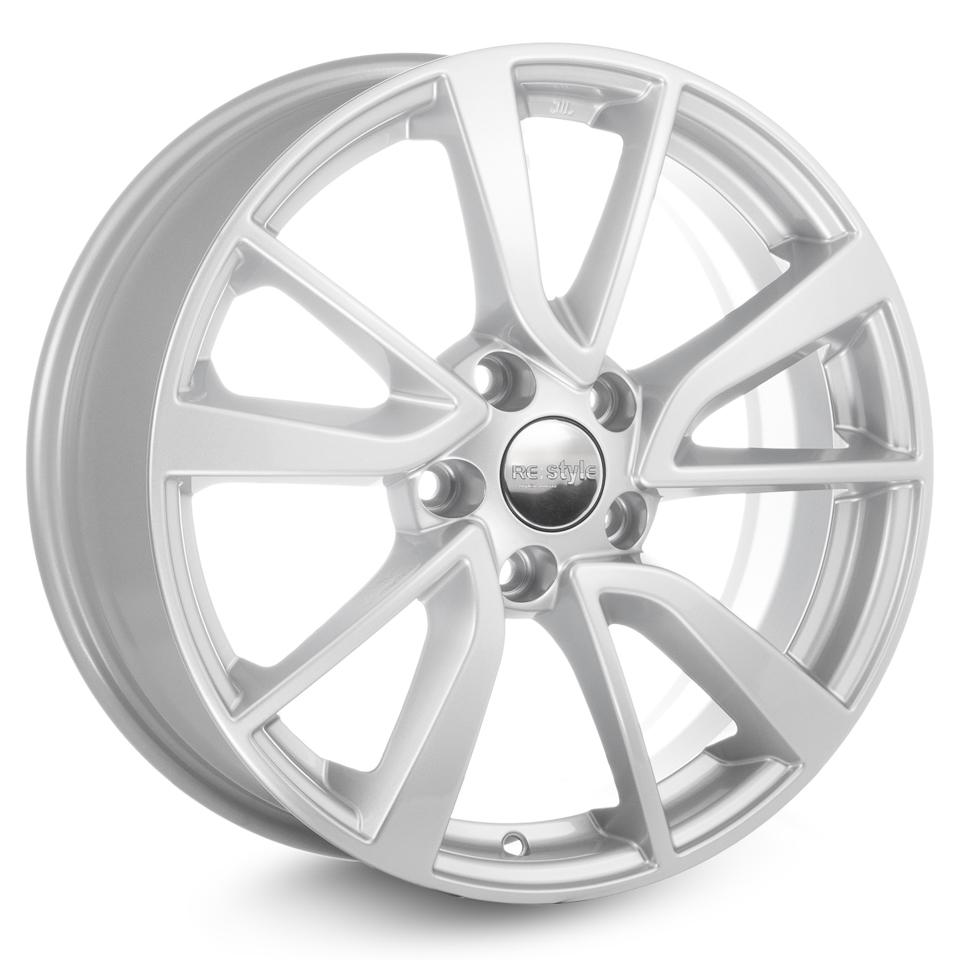 Литой диск КиК Audi A4 (КС699) 7x17/5*112 D66.6 ET46 Silver
