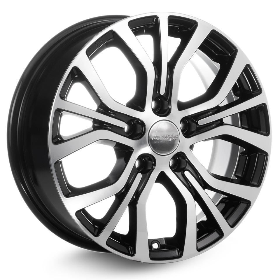 Фото - Литой диск КиК Nissan Qashqai (КС736) 6.5x16/5*114.3 D66.1 ET40 Алмаз-черный колесный диск тзск nissan qashqai 6 5x16 5x114 3 d66 1 et40 bk