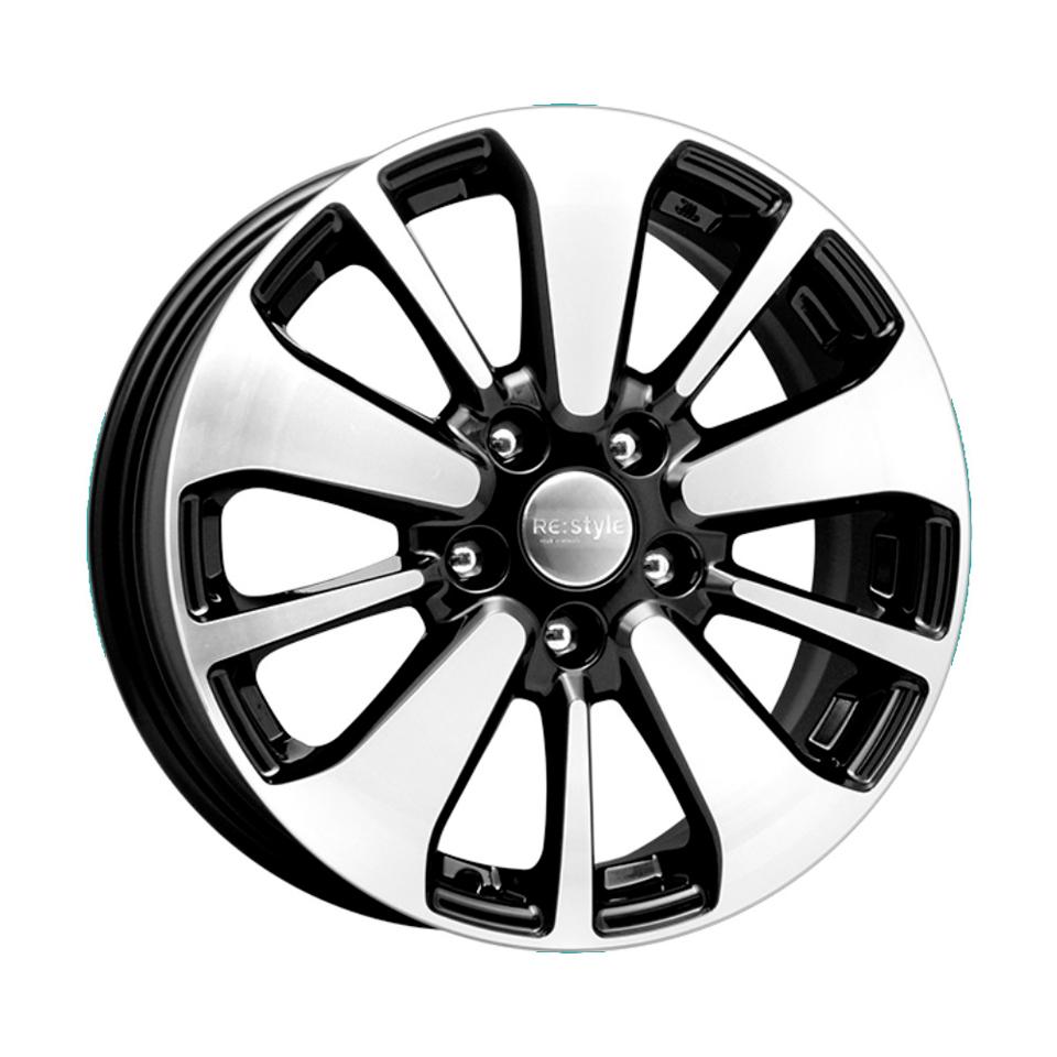 Фото - Литой диск КиК Nissan Qashqai (КС688) 6.5x16/5*114.3 D66.1 ET40 Алмаз-черный колесный диск тзск nissan qashqai 6 5x16 5x114 3 d66 1 et40 bk