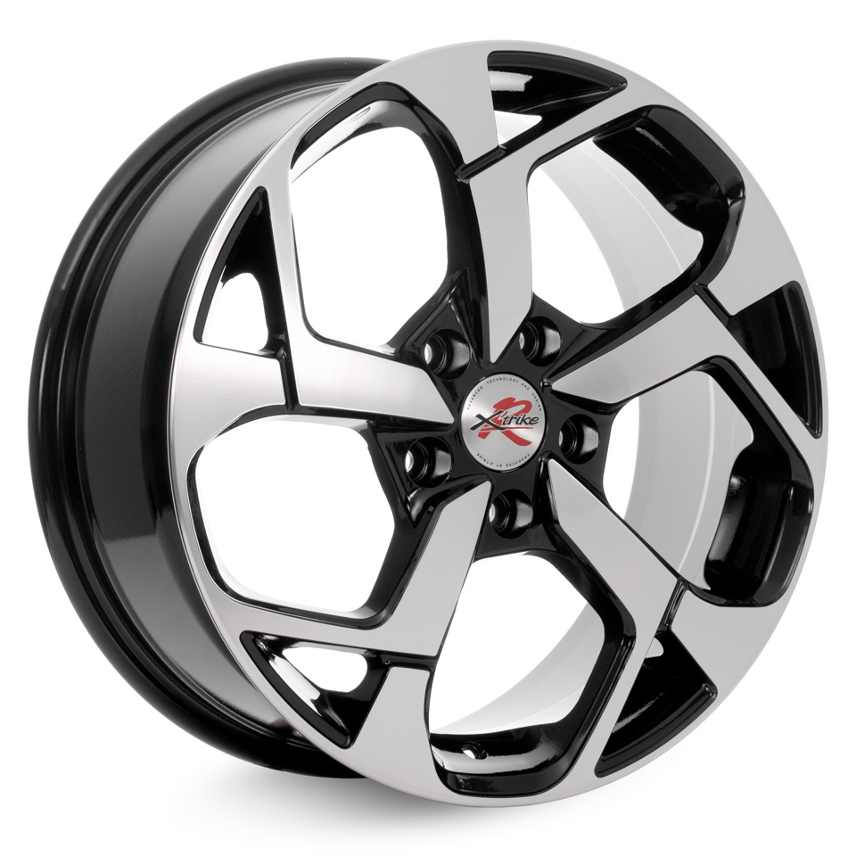 Фото - Литой диск X`trike RST R067 7x17/5*114.3 D67.1 ET35 BK/FP колесный диск x trike x 103 5 5x14 4x100 d67 1 et35 bk fp
