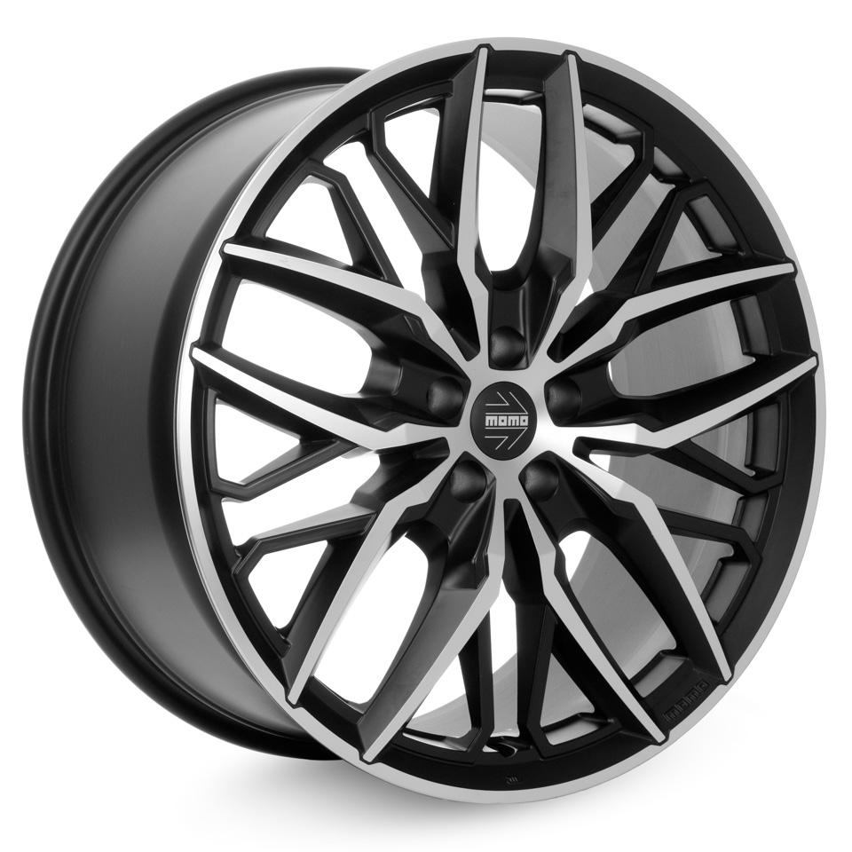 Фото - Литой диск Momo SUV Spider 10x21/5*112 D66.6 ET25 Matt Black-Polished литой диск momo suv revenge 10x20 5 112 d66 6 et25 matt anthracite