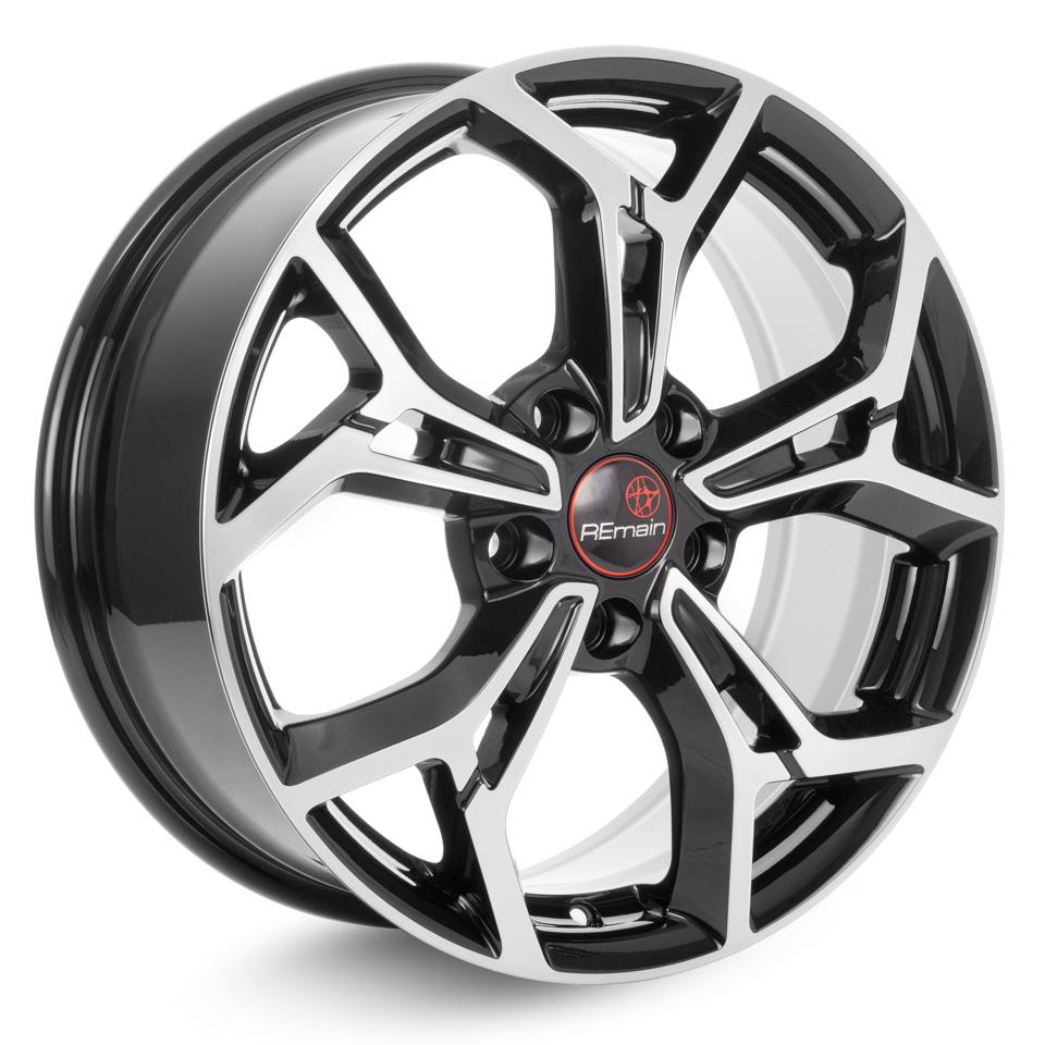 Литой диск Remain Volkswagen Tiguan (R203) 7x17/5*112 D57.1 ET40 Алмаз-черный