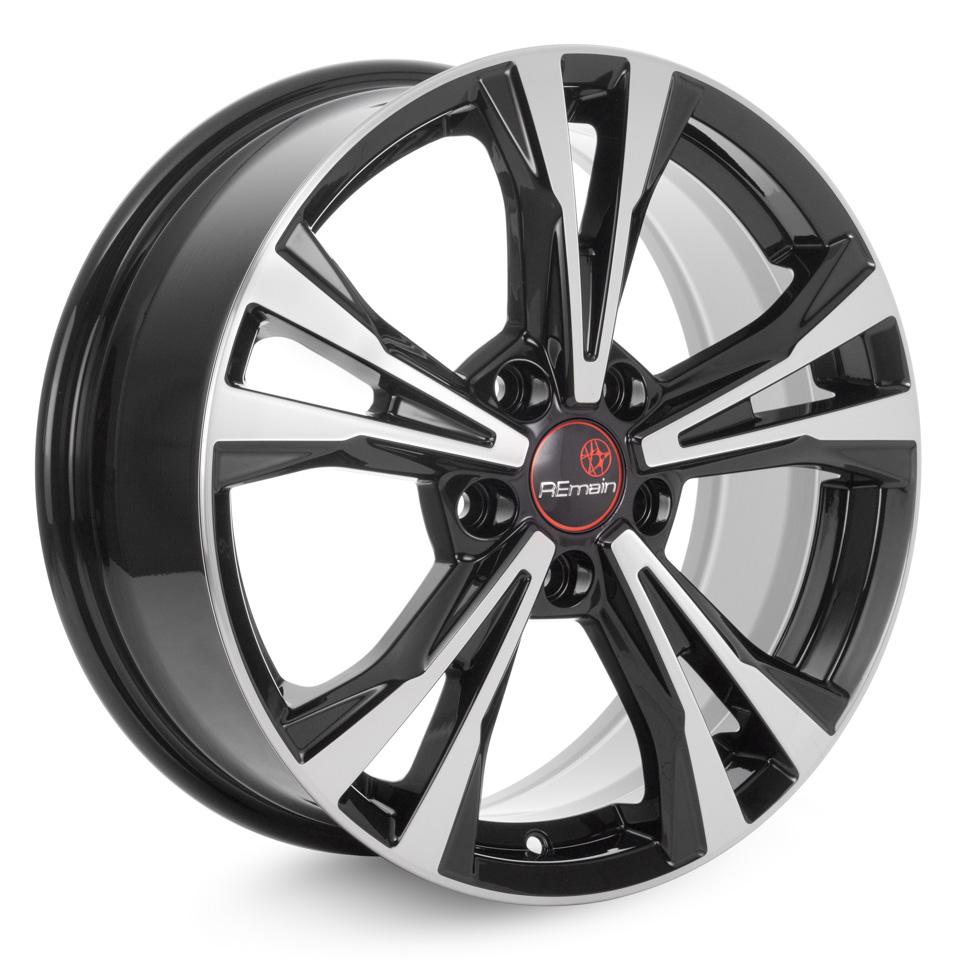 Литой диск Remain Volkswagen Tiguan (R204) 7x17/5*112 D57.1 ET40 Алмаз-черный
