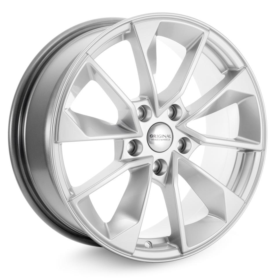 Фото - Литой диск СКАД Nissan Qashqai (KL-299) 7x17/5*114.3 D66.1 ET40 Селена колесный диск тзск nissan qashqai 6 5x16 5x114 3 d66 1 et40 bk