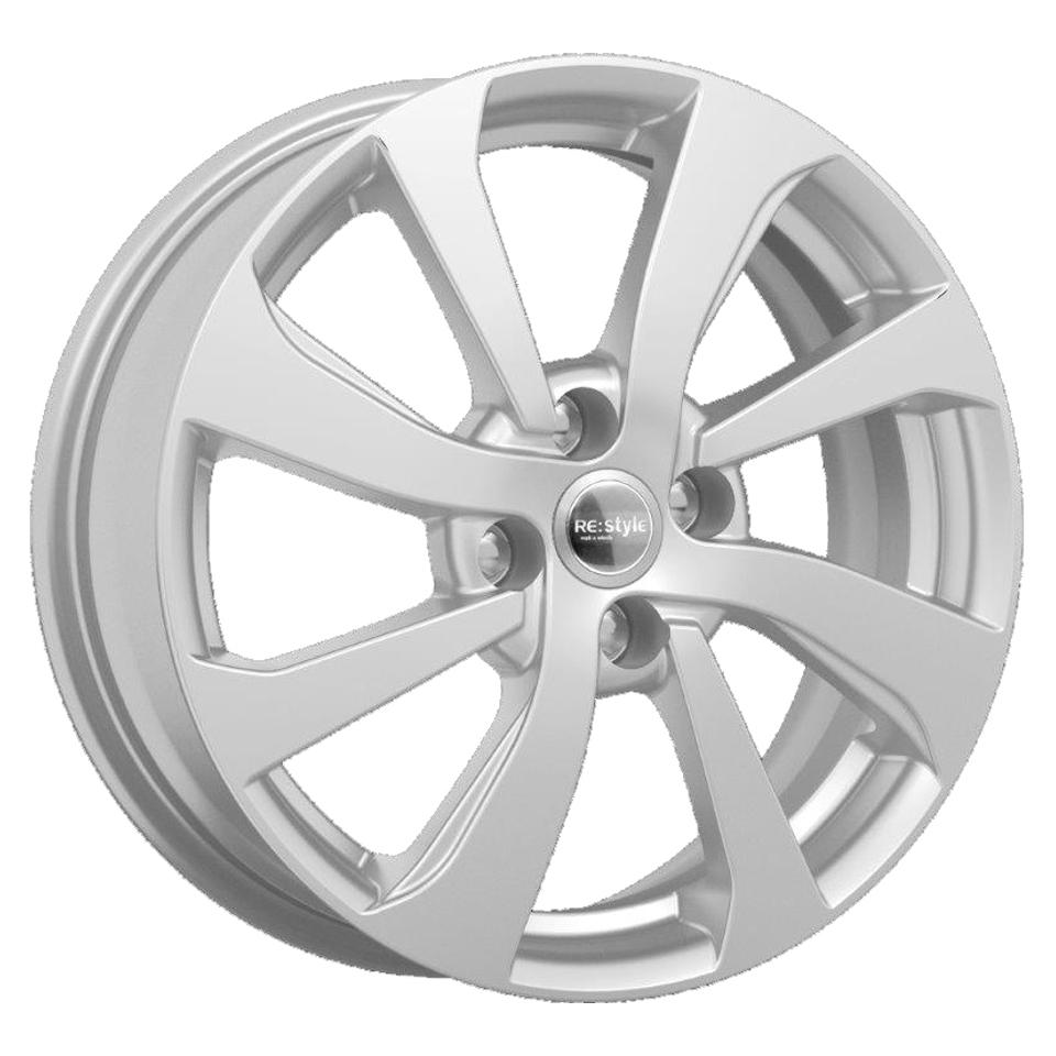 Фото - Литой диск КиК Kia Rio X-Line (КС893) 6x16/4*100 D54.1 ET49 Silver колесные диски tech line 1606 6x16 4 100 d60 1 et37