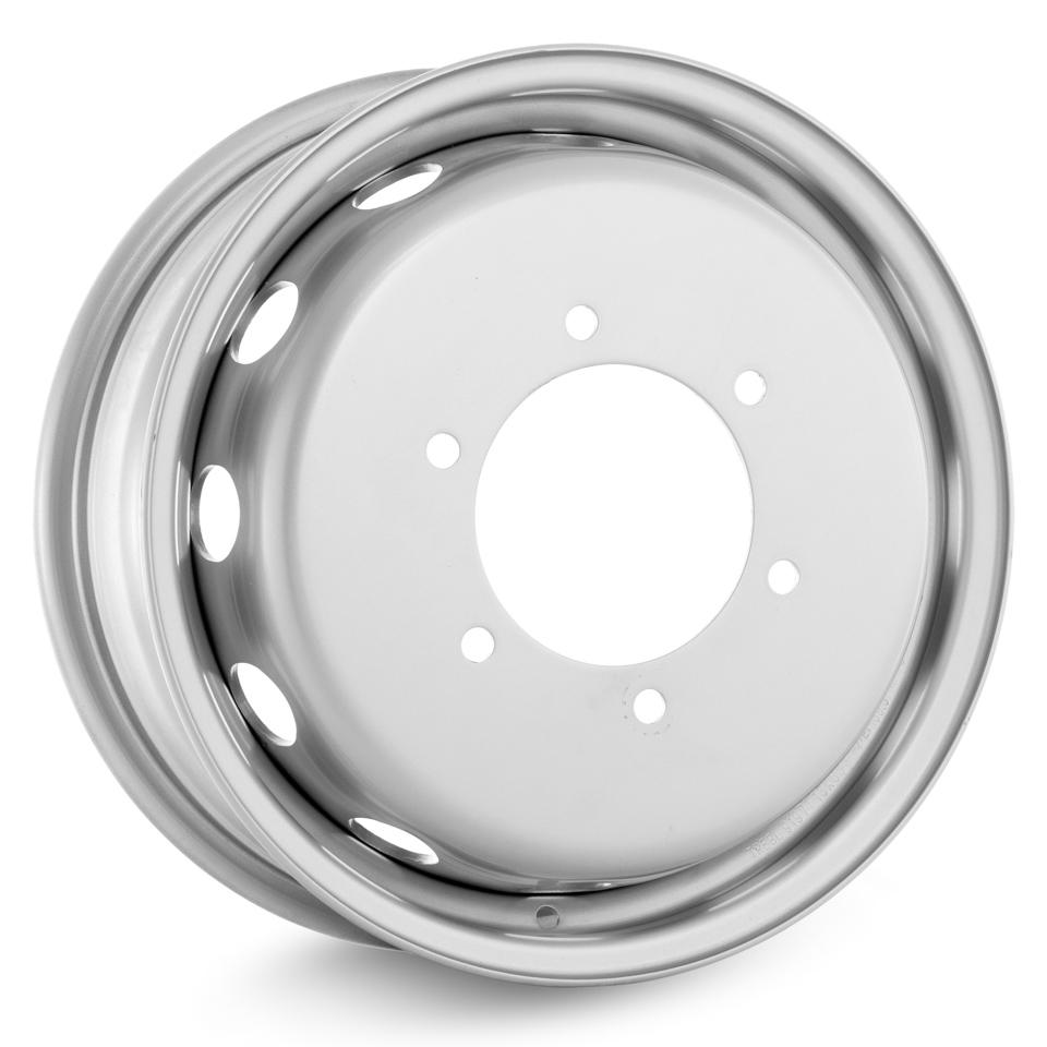 Фото - Штампованный диск TREBL 9197T Ford 6x16/6*180 D138.8 ET109.5 Silver штампованный диск trebl 6555 chevrolet 5 5x14 4 114 3 d56 6 et44 silver