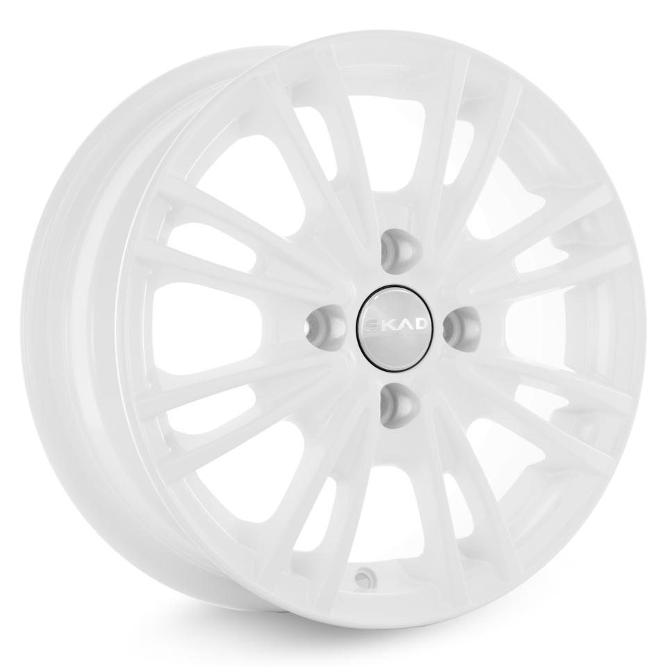 Литой диск СКАД Пантера 5.5x14/4*100 D67.1 ET39 Белый