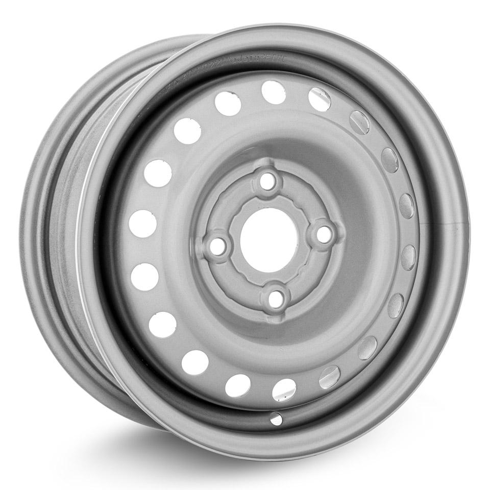 Штампованный диск TREBL Hyundai 4375 5x13/4*100 D54.1 ET46 Silver колесный диск trebl 42b29c 5x13 4x98 d60 1 et29 silver