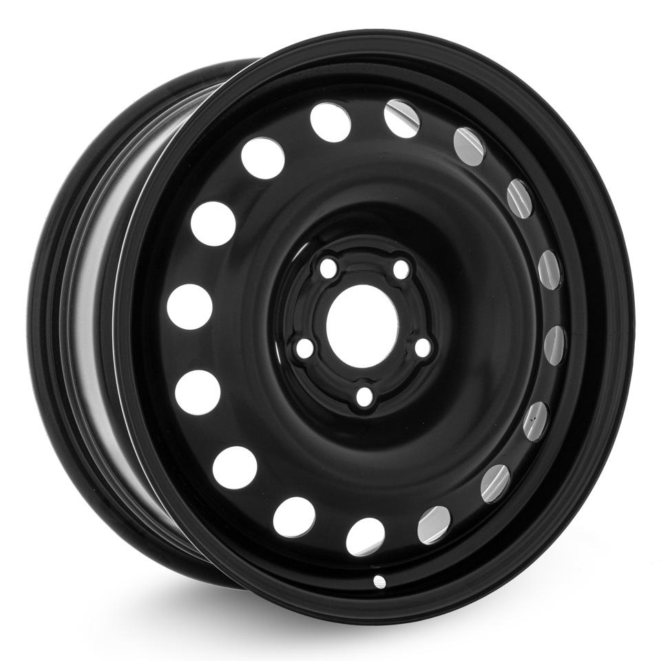Фото - Штампованный диск TREBL R-1730 7x17/5*114.3 D67.1 ET51 Black штампованный диск trebl mitsubishi outlander r 1722 6 5x17 5 114 3 d67 1 et38 black