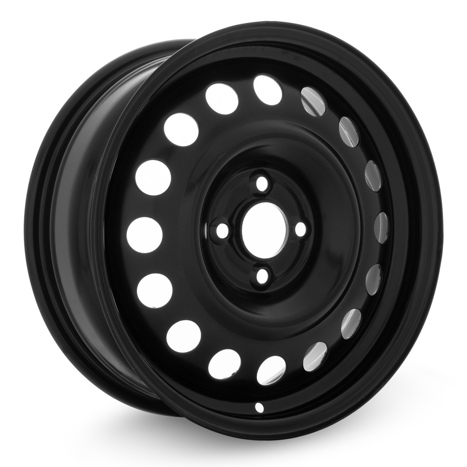 Штампованный диск TREBL X40933 P Lada 6x16/4*100 D60.1 ET41 Black штампованный диск trebl x40933 p lada 6x16 4 100 d60 1 et41 black