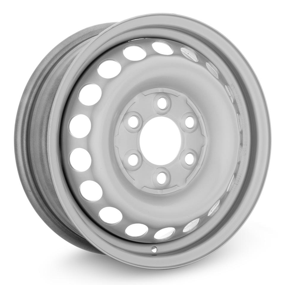Фото - Штампованный диск TREBL 616037T Mercedes 5.5x16/6*130 D84.1 ET51 Silver штампованный диск trebl 6555 chevrolet 5 5x14 4 114 3 d56 6 et44 silver
