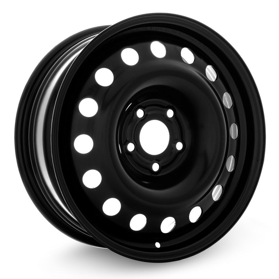 Фото - Штампованный диск TREBL R-1725 6.5x17/5*114.3 D67.1 ET46 Black штампованный диск trebl mitsubishi outlander r 1722 6 5x17 5 114 3 d67 1 et38 black