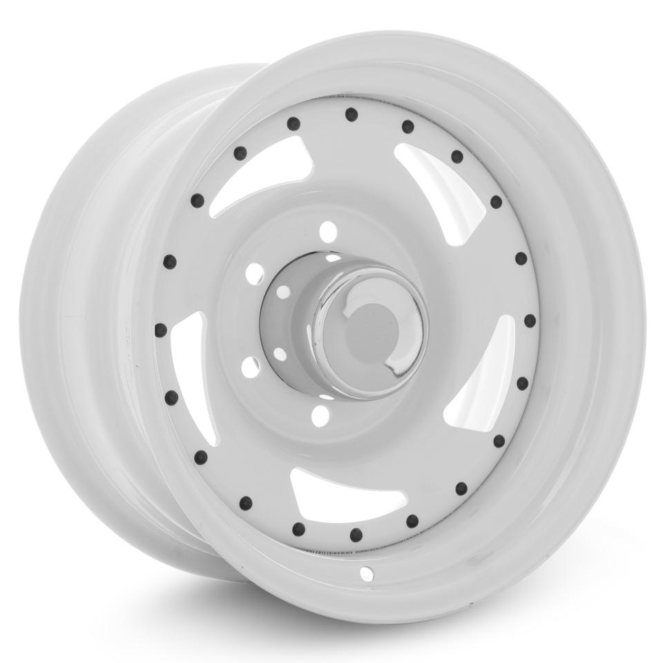 Штампованный диск TREBL Off-road 01 8x15/6*139.7 D110.5 ET-16 White